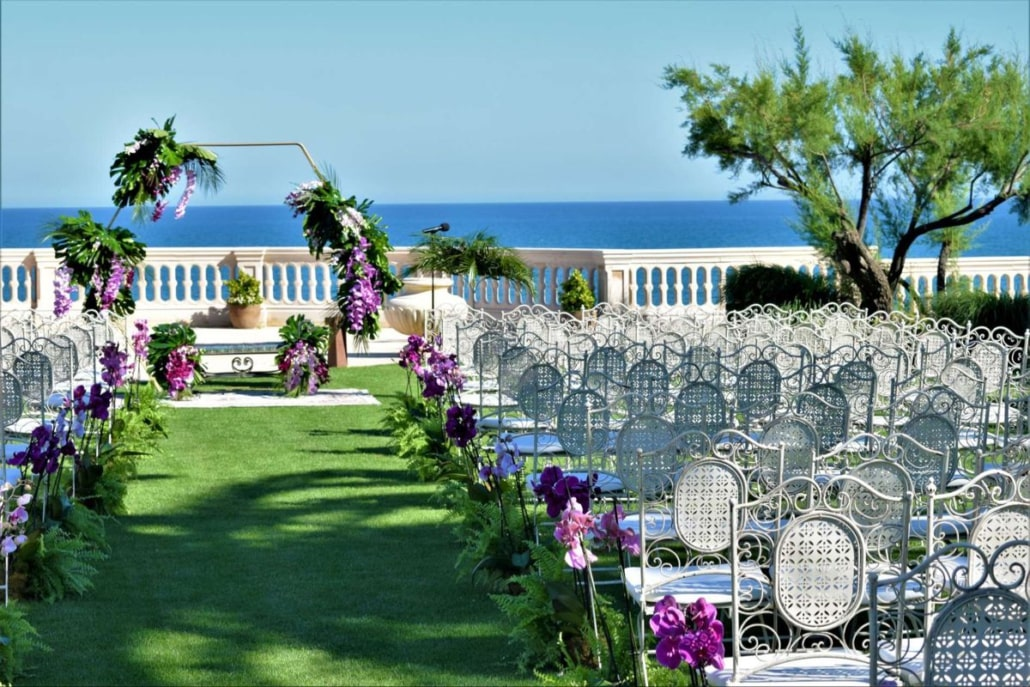 Ceremony flowers Sitges